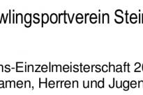 Vereins Einzelmeisterschaft 2016/17
